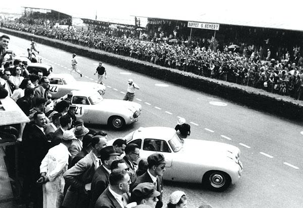 300 SL in Le Mans
