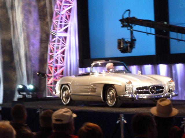 Roadster at Gooding Auction Block Arizona 2013