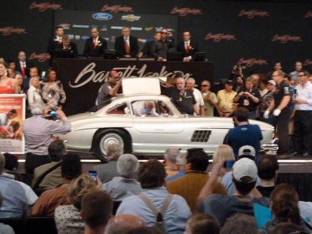 Clark Gables silver Gullwing on the Barrett-Jackson auction block
