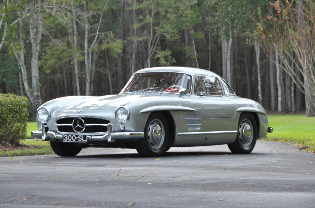 1955 Mercedes - Benz 300 Sl Gullwing - no sale at 910,000 US$ hammer price at RM Auctions