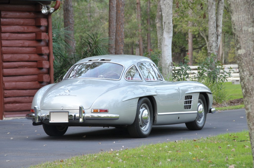 Single family ownership Gullwing to ba auctiones at Amelia Island ©RMAuctions