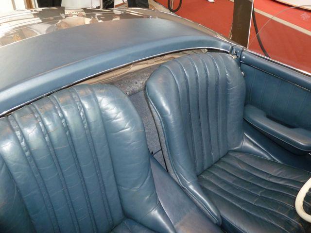 Original blue leather