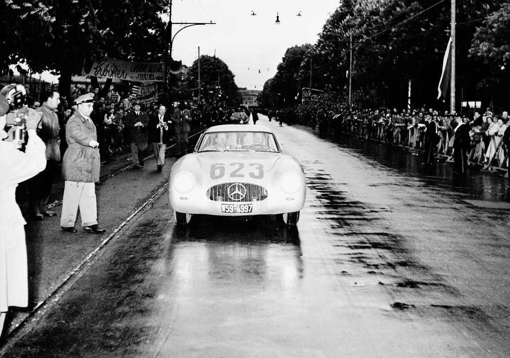 2nd Place in the 1952 Mille MIglia - Karl Kling / Hans Klenk