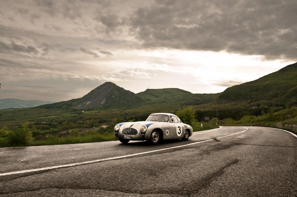 Rudy Caracciola's class winning 300 SL W194