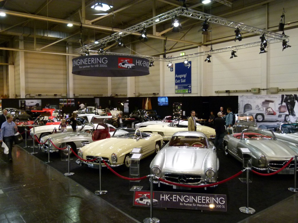 HK Engineering presenting 300 SLs at Techni Classica