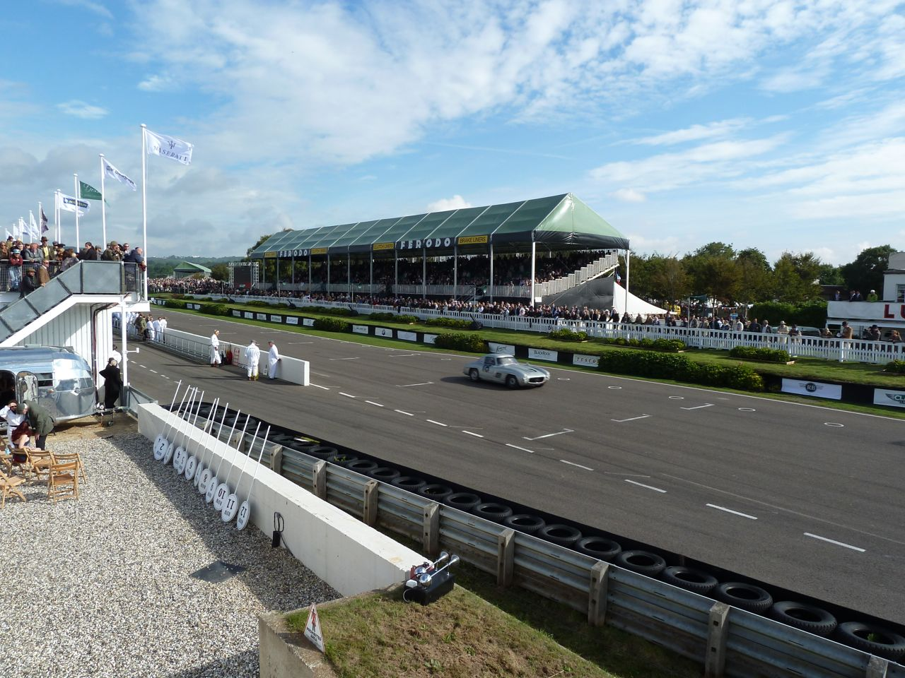 Goodwood pitlane