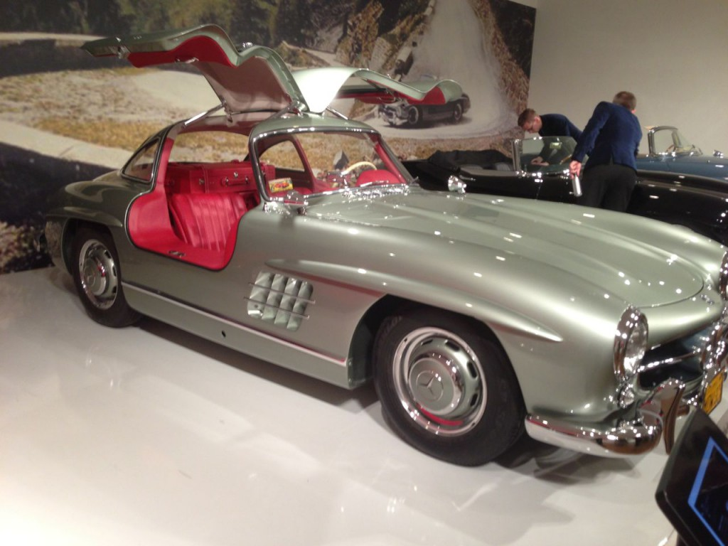 1955 Gullwing in light green metallic