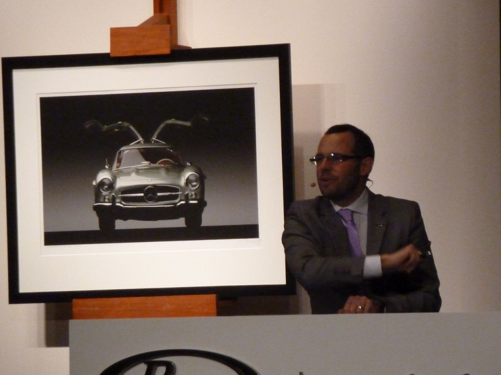 Max Girardo Auctioneer of RM Auctions