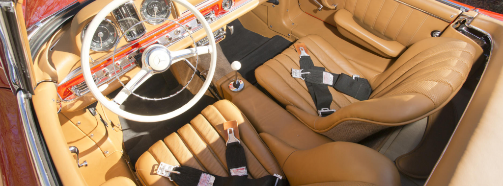 Tan Interior @Bonhams