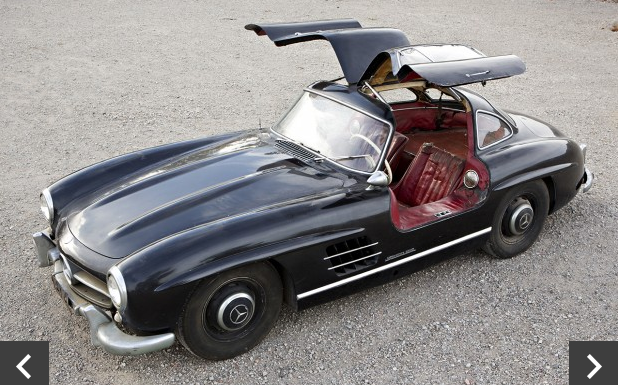 1956 Gullwing all original @Gooding&Co.