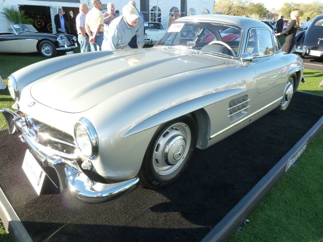 1955 Gullwing at Bonhams auction Scottsdale 2013
