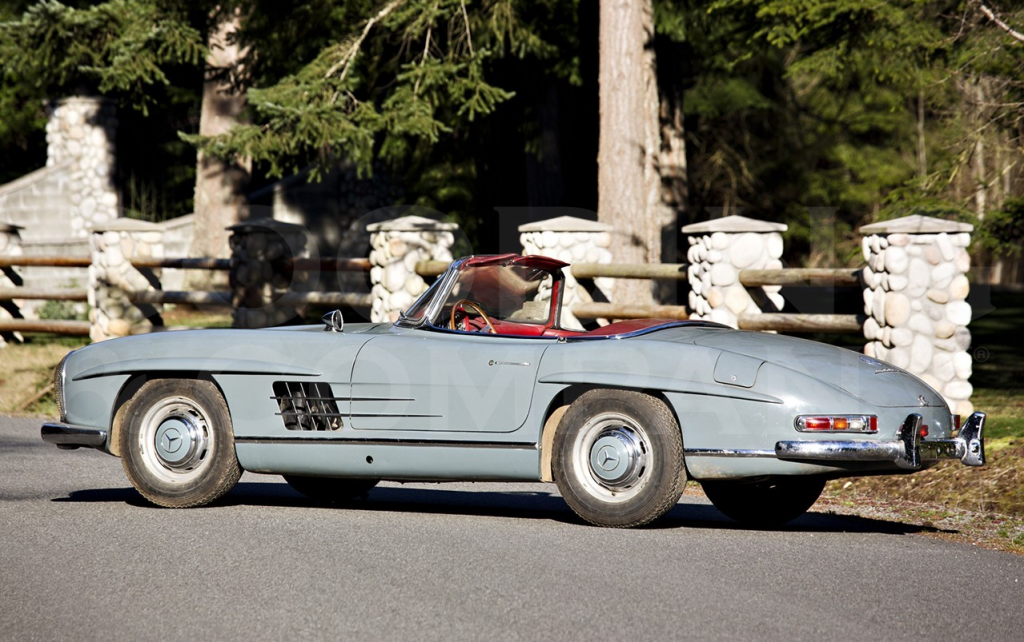 300 SL Roadster factory deivered in 1964