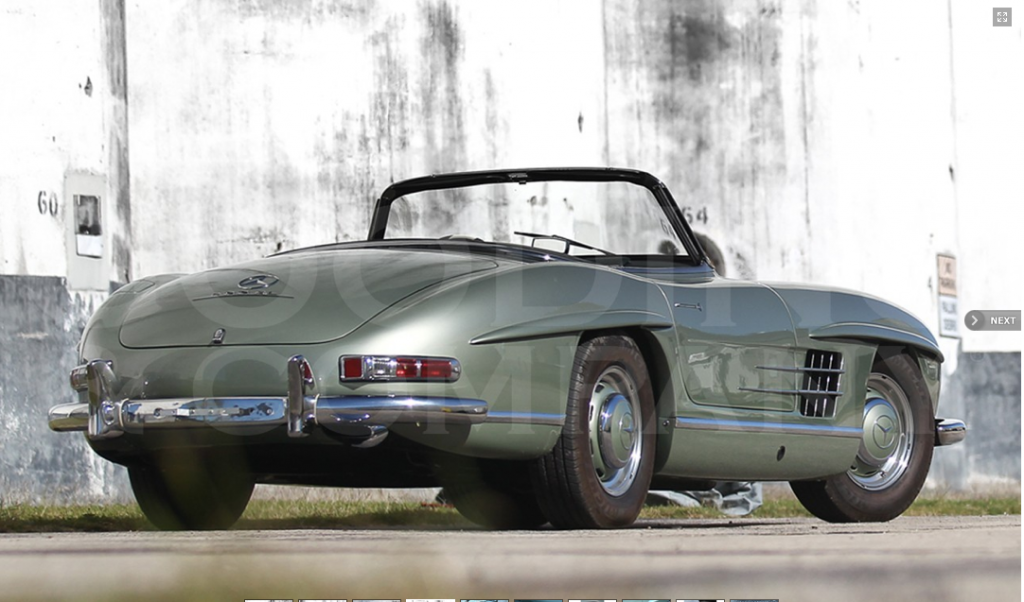 300 SL Roadster 1957 ©Gooding&Co.