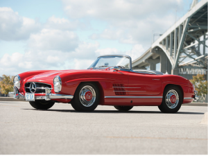 1957 Mercedes-Benz 300Sl Roadster - 3 owbeners from new